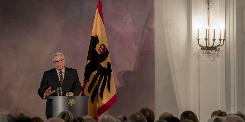 Abschiedsrede von Bundespräsident Gauck - Foto: Michael Kappeler