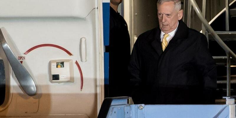US-Verteidigungsminister Mattis in München - Foto: Sven Hoppe