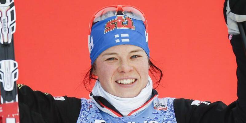 Krista Parmakoski - Foto: Die finnische Langläuferin Krista Parmakoski ist immer für einen Podiumsplatz gut. Foto:Terje Pedersen