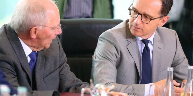 Minister-Duo - Foto: Kay Nietfeld