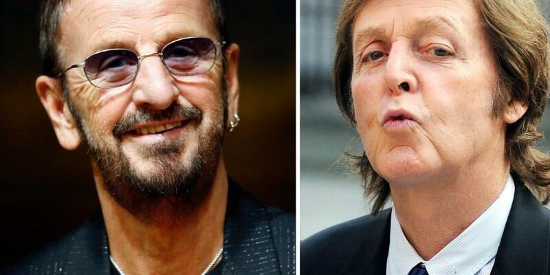 Ringo Starr und Paul McCartney - Foto: Nogier Rain