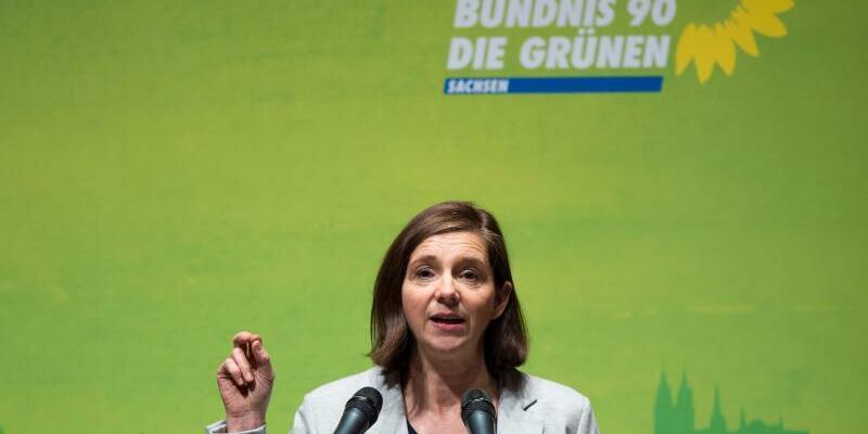 Grünen-Spitzenkandidatin Katrin Göring-Eckardt - Foto: Sebastian Kahnert/Archiv
