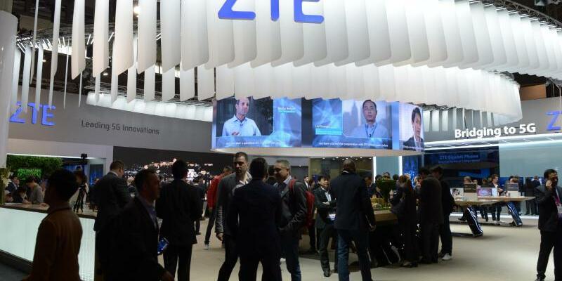 Netzwerk-Ausrüster ZTE - Foto: Andrej Sokolow