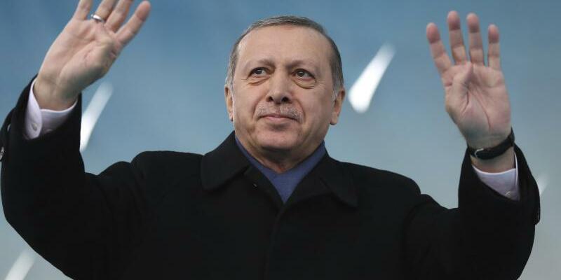 Erdogan in Afyonkarahisar - Foto: Kayhan Ozer