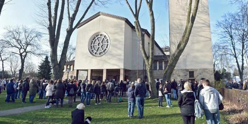 Trauergottesdienst nach Doppelmord von Herne - Foto: Caroline Seidel