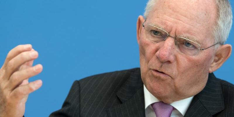 Finanzminister Schäuble - Foto: Bernd von Jutrczenka