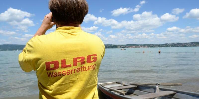 Rettungsschwimmer am Bodensee - Foto: Patrick Seeger/Archiv