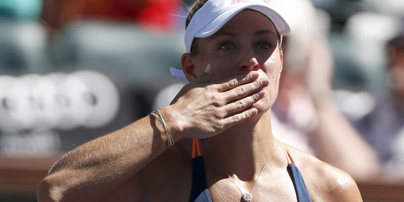 Wieder Spitze - Foto: Angelique Kerber ist wieder die Nummer eins der Damen-Weltrangliste. Foto:Charles Baus