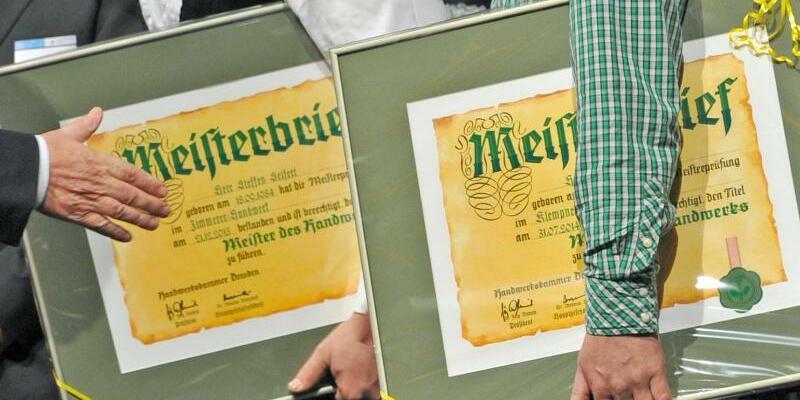 Meisterbrief - Foto: Matthias Hiekel
