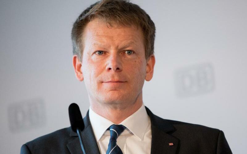 Bahnchef Richard Lutz - Foto: Kay Nietfeld