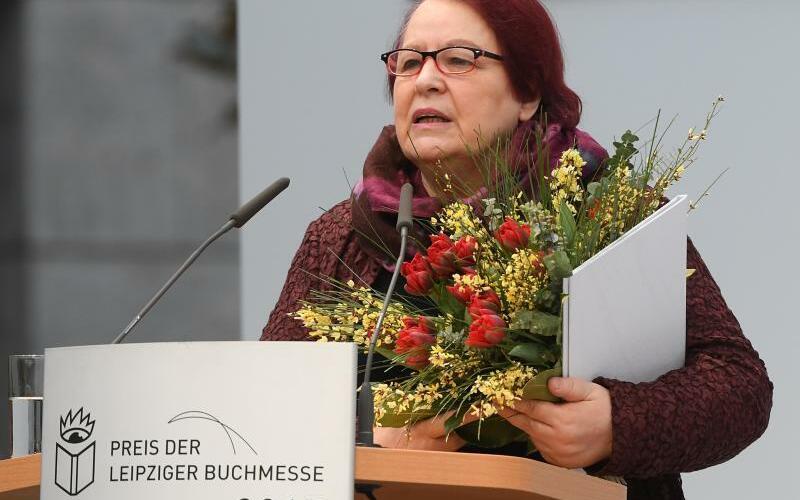 Buchmesse Leipzig - Natascha Wodin - Foto: Hendrik Schmidt