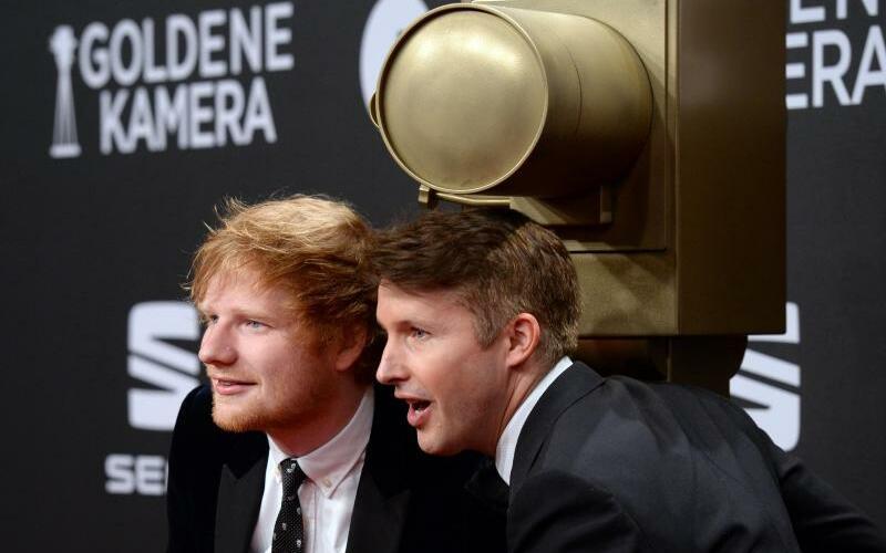 Ed Sheeran & James Blunt - Foto: Daniel Reinhardt