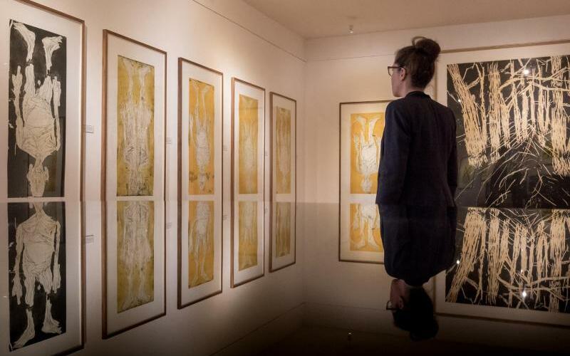 Baselitz-Ausstellung in Wedel - Foto: Sina Schuldt