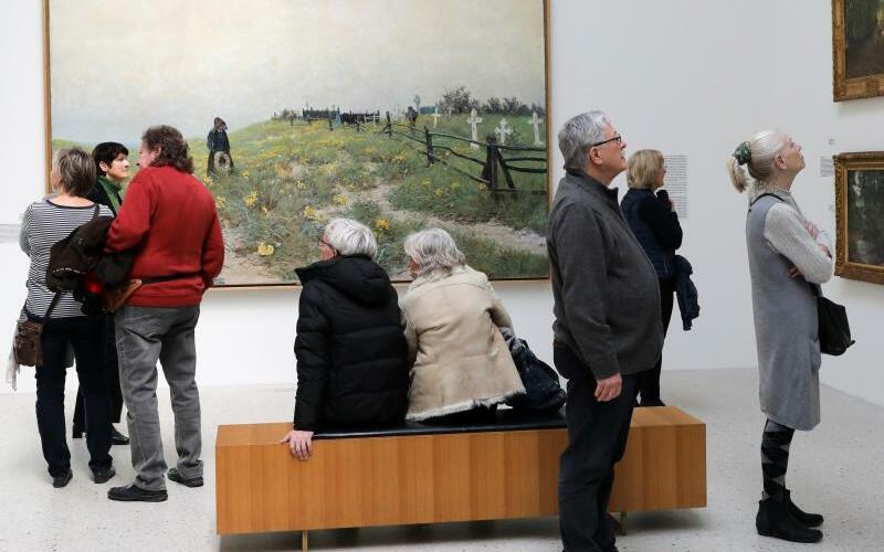 125 Jahre Künstlerkolonie Ahrenshoop - Foto: Bernd Wüstneck