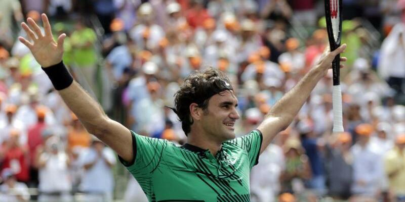 Erholungsbedürftig - Foto: Roger Federer will sich nach dem Turniersieg in Miami eine Auszeit gönnen und sich erholen. Foto:Lynne Sladky