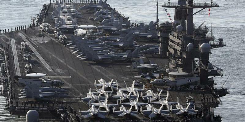 US-Flugzeugträger - Foto: Jo Jung-Ho