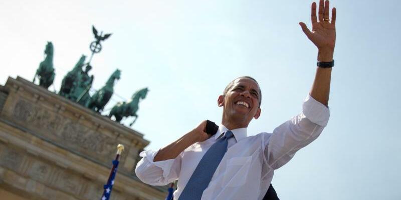 Barack Obama - Foto: Michael Kappeler/Archiv