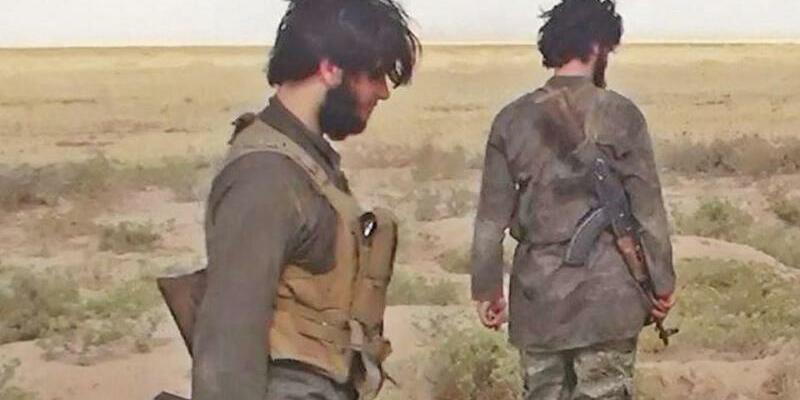IS-Kämpfer - Foto: Experten gehen davon aus, dass mehrere Hundert Menschen aus Usbekistan den Weg zur Terrormiliz IS in Syrien und dem Irak gefunden haben. Foto:Albaraka News