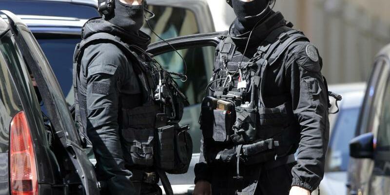Verhaftungen in Marseille - Foto: Claude Paris