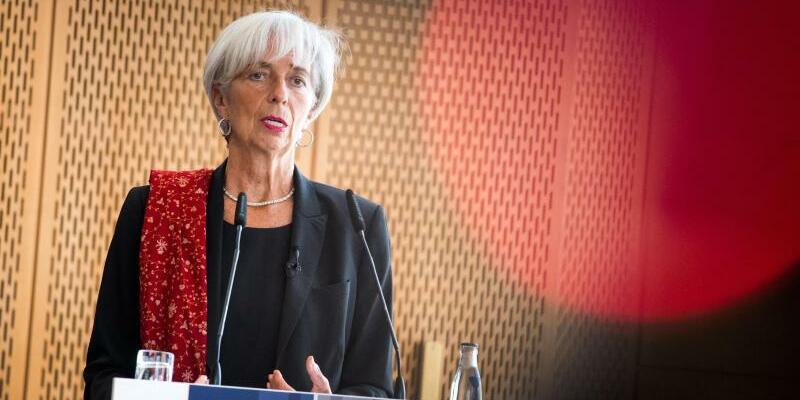 IWF-Chefin Lagarde - Foto: Bernd von Jutrczenka/Archiv