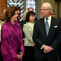 Schwedisches Königspaar zu Besuch in Berlin - Foto: Britta Pedersen