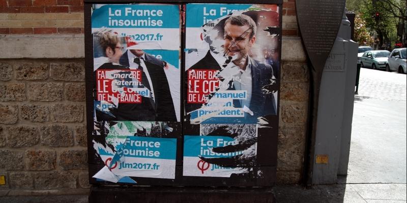 Wahlplakate in Frankreich 2017 - Foto: über dts Nachrichtenagentur