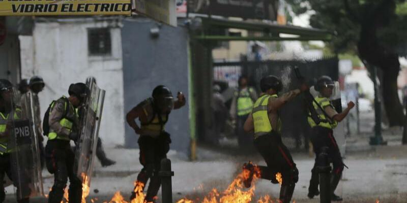 Proteste in Venezuela - Foto: Fernando Llano