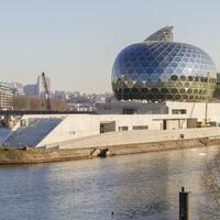 Neue Konzerthalle in Paris - Foto: Die Halle wurde vom japanischen Stararchitekten Ban entworfen. Foto:Laurent Blossier