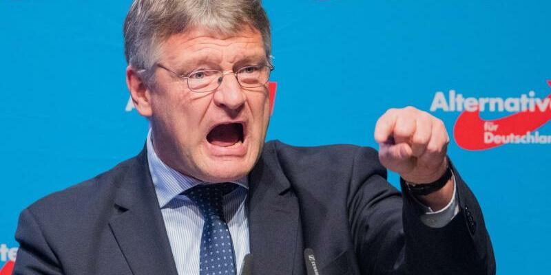 Meuthen - Foto: Jörg Meuthen fordert Taten, sonst sei ein «muslimisch geprägtes Land eine mathematische Gewissheit». Foto:Rolf Vennenbernd