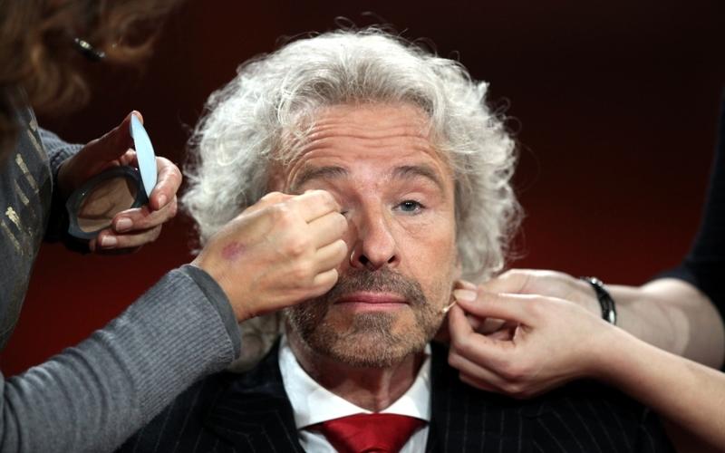 Thomas Gottschalk in der Maske - Foto: über dts Nachrichtenagentur
