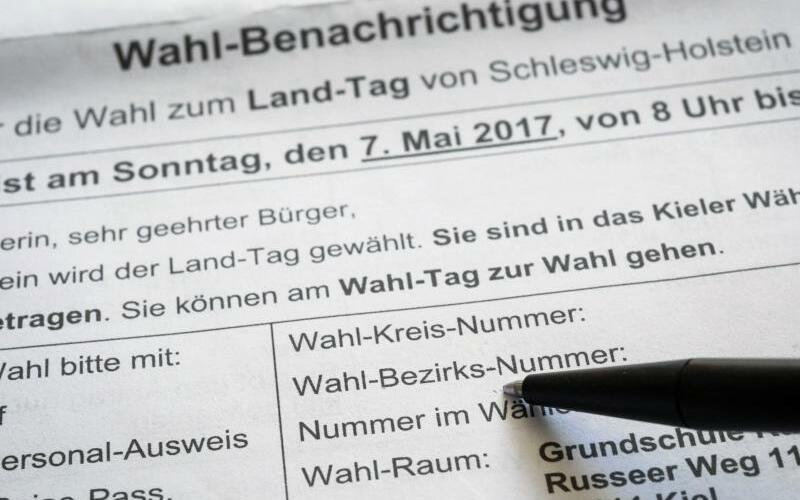 Wahlbenachrichtigung - Foto: Christian Charisius