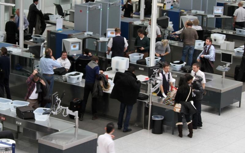 Sicherheitskontrolle am Flughafen - Foto: über dts Nachrichtenagentur