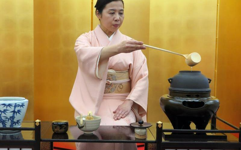 Japan-Teezeremonie - Foto: Lars Nicolaysen