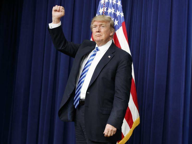 Donald Trump - Foto: Evan Vucci/Archiv