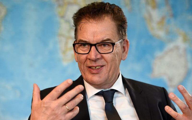 Bundesentwicklungsminister Gerd Müller - Foto: Rainer Jensen/Archiv