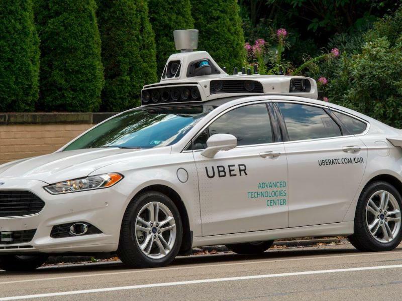 Selbstfahrender Uber-Wagen - Foto: Uber/UBER/dpa