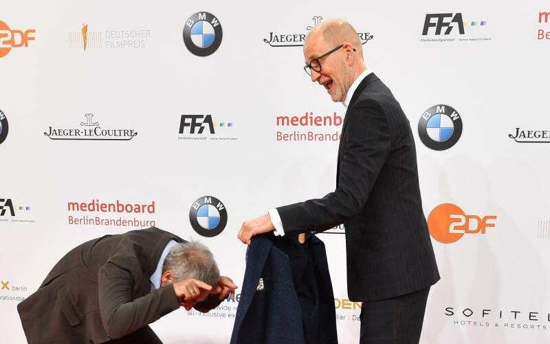 Verleihung Deutscher Filmpreis - Dani Levy +  Peter Lohmeyer - Foto: Jens Kalaene