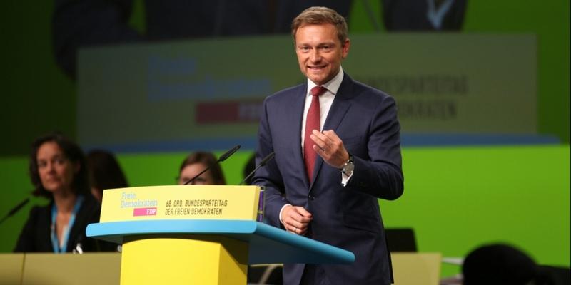 Christian Lindner am 28.04.2017 - Foto: über dts Nachrichtenagentur