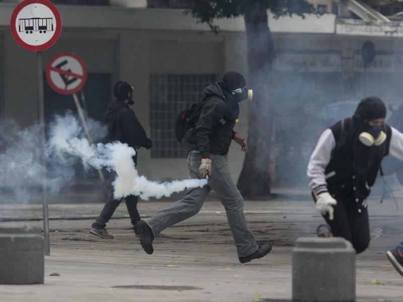 Demonstrationen - Foto: Silvia Izquierdo