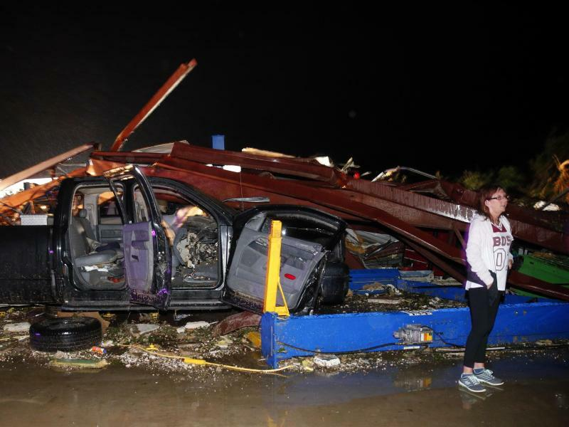 Tornados in Texas - Foto: Tom Fox/The Dallas Morning News
