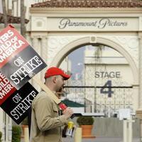 Streik der Drehbuchautoren - Foto: Kevork Djansezian