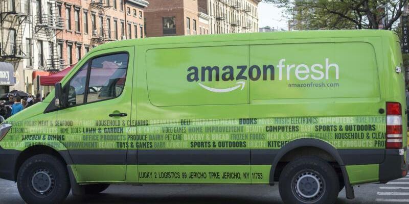 Amazon Fresh-Fahrzeug - Foto: Richard B. Levine/UPPA