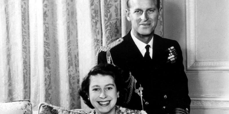 Königliches Paar - Foto: INP