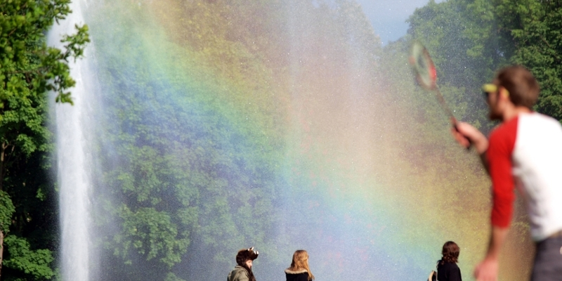 Schönes Wetter in einem Park - Foto: über dts Nachrichtenagentur
