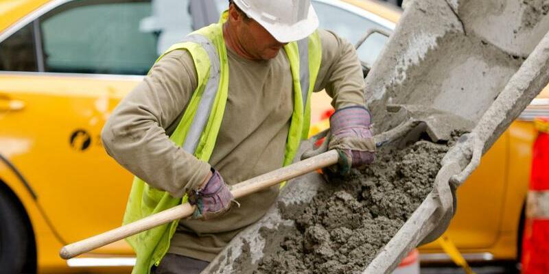 Bauarbeiter in New York - Foto: Daniel Bockwoldt