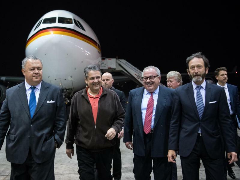 Bundesaußenminister Sigmar Gabriel in Mexiko - Foto: Bernd von Jutrczenka