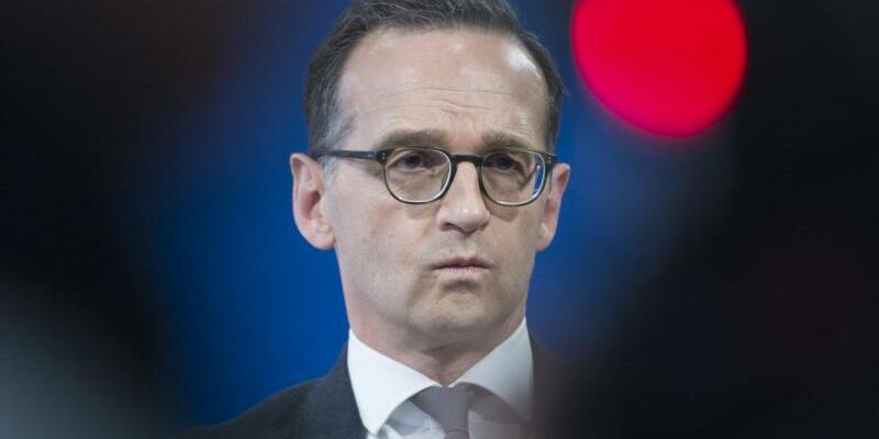 Justizminister Maas - Foto: Paul Zinken