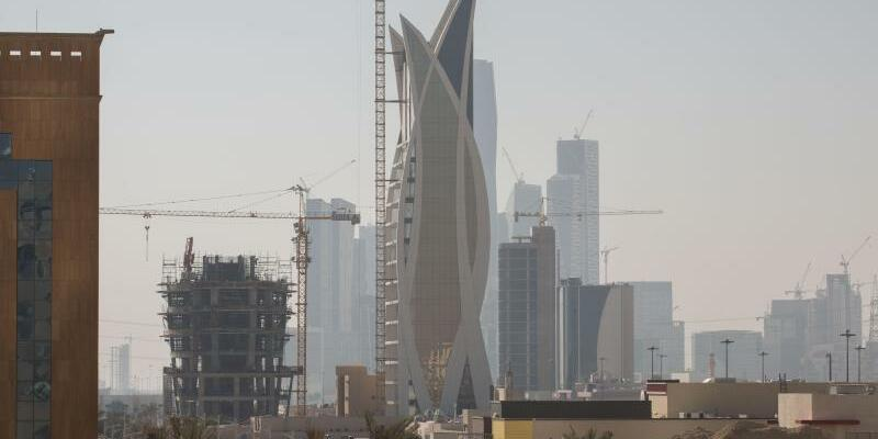 Baustelle Riad - Foto: Michael Kappeler