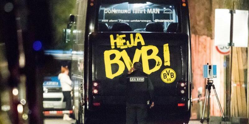 Anschlag auf BVB-Bus - Foto: Marcel Kusch
