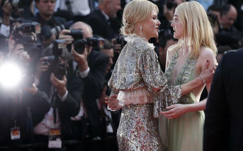 Elle Fanning, Nicole Kidman - Foto: Thibault Camus